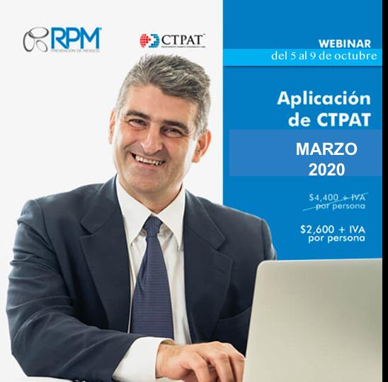 taller aplicación ctpat marzo 2020