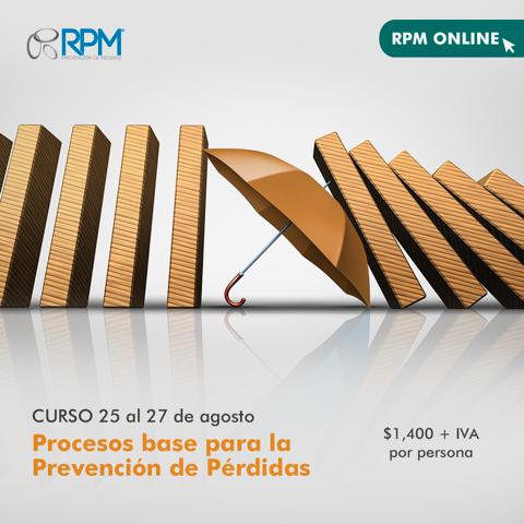 curso procesos base prevención de pérdidas
