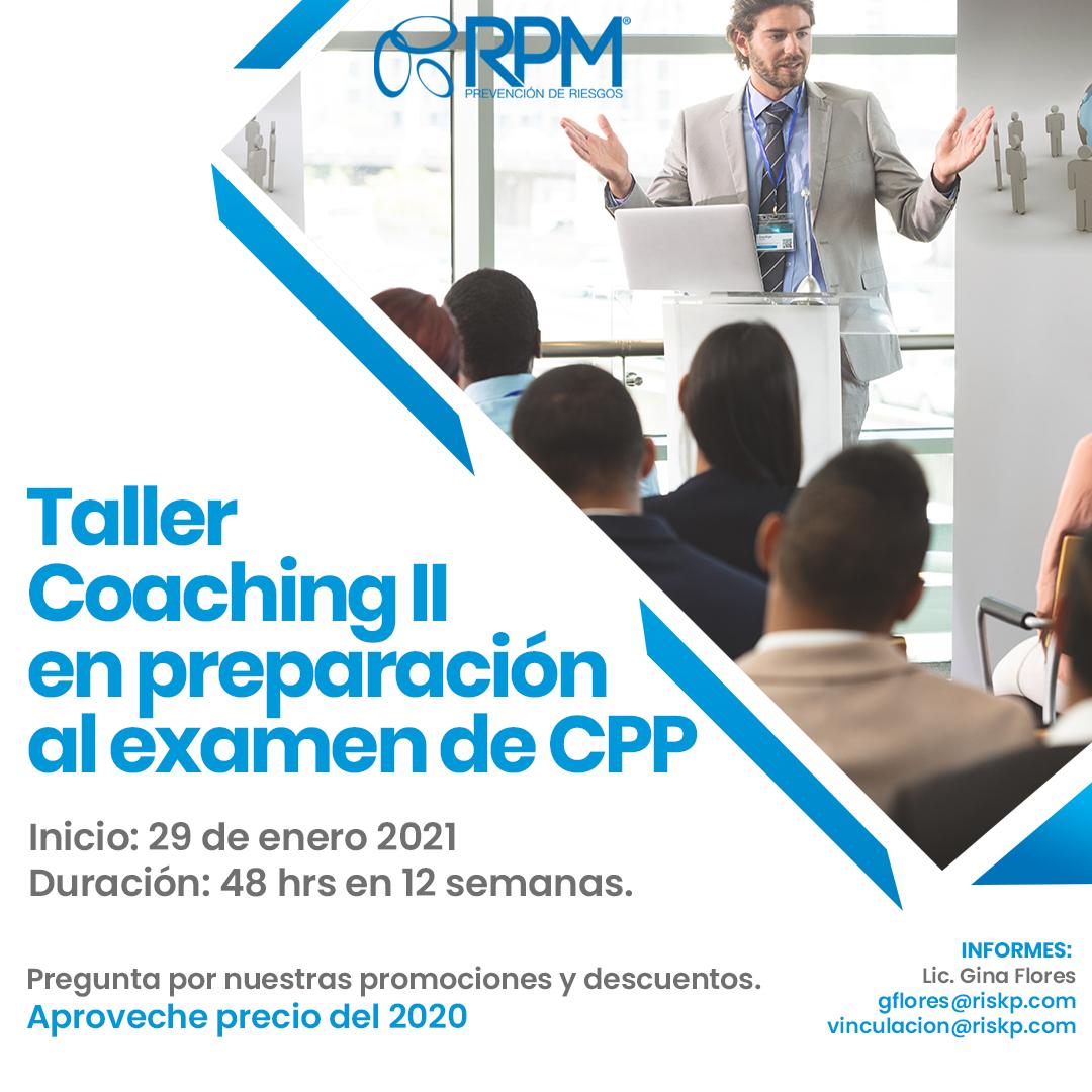 coaching II en preparación al examen de cpp®